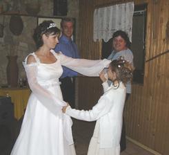 taneček s družičkou :-)
