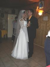 prvý tanček s manželom