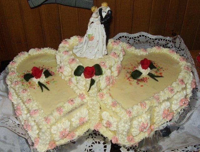 """TORTICKY s velkym """"T"""" - naša svad. tortička"""