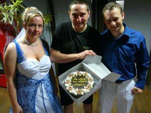 dortík pro úžasného pana majitele...díky za všechno...