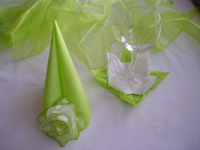 Prípravy na našu svadbu 19.09.2009 - ... a zelena