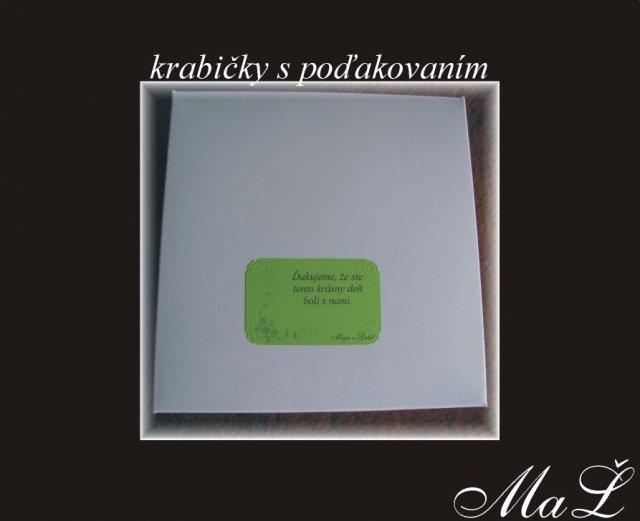 Co uz mame :) - krabicky s nalepkami