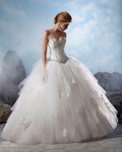 Svadobné šaty, čo sa mi páčia :) - Obrázok č. 3