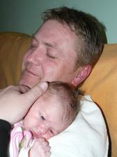Čekání u tatínka na brkanec:-)...