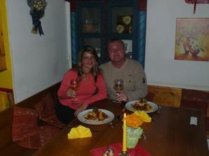 Romantická večere