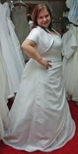 šaty 12. - s bolérkem  zboku