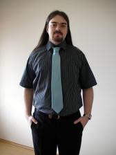 Ženich - košile a kravata na večer