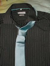Oblečení ženich - Košile s kravatou na převlečení varianta 2