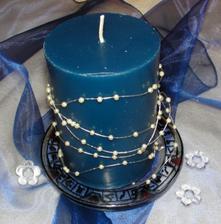 Dekorace - opět svíčka