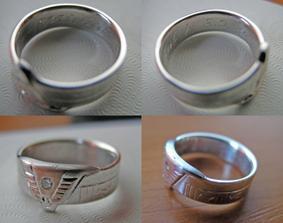 Prstýnky - detail prstýnku nevěsty