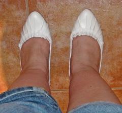 Botky - zeshora, tento pohled mě přesvědčil, že jo :o) Tedy na botky ne na nohy :o)