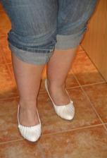 Botky - pohled zepředu, ehm odmyslete nohy :o) Jinak fotka je ze zrcadla.