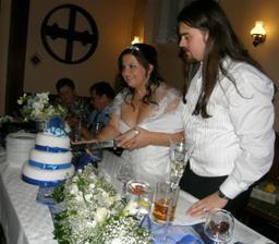 Krájení dortíku :o)