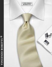 kravata smetanová