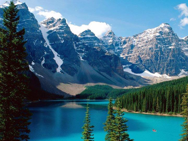 Honneymoon inšpirácie - Banff (Kanada)