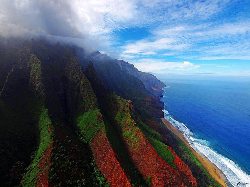 Honneymoon inšpirácie - Hawaii - Kalalau Beach