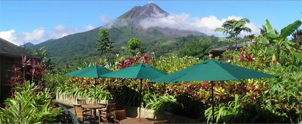 Honneymoon inšpirácie - Hotel Nayara Hotel Spa and gardens, La Fortuna de San Carlos (Costa Rica)