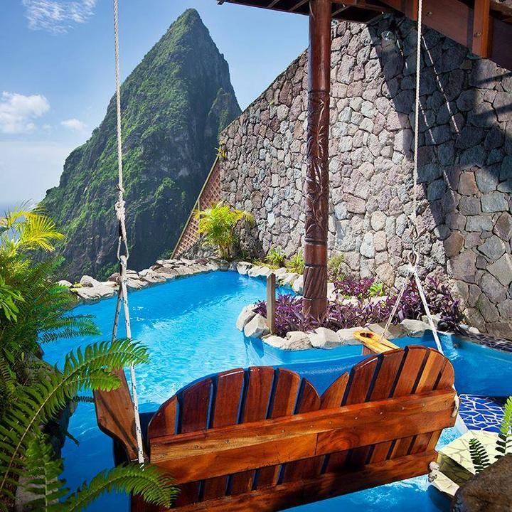 Honneymoon inšpirácie - Sv. Lucia - Ladera resort