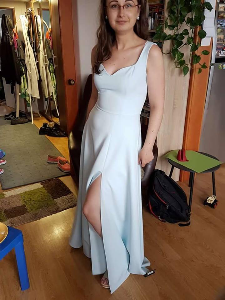 Popolnočné šaty pre nevestu - - Svadobné šaty 47615791701