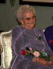 babička Květuška