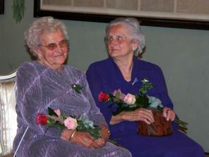 babičky Květuška a Lýdinka
