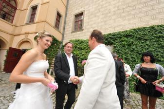 pan kníže Lobkowic přišel také poblahopřát