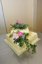 úúúúúúúúžasný dortík, krásně vypadal a ještě líp chutnal