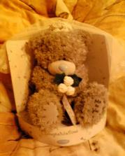medvídek na auto nevěsty