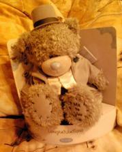 medvídek na auto ženicha