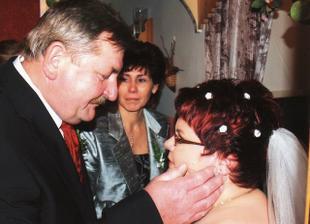 požehnání manželových rodičů