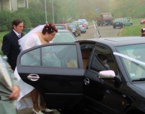 nastupování do auta bylo složité ale zvládla jsem to na jedničku ;)