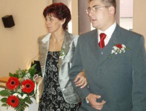 první ženich s maminkou
