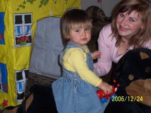 to jsem s mojí skoro 2 letou dceruškou