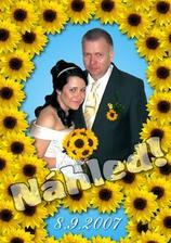 Náhled naší památeční fotky pro rodinu a kámoše