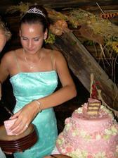 krájanie torty...