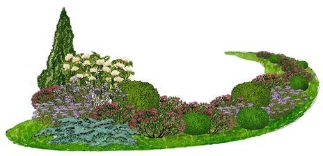 Ružový tavoľníkový chodník - vhodný pre otvorené slnečné miesta