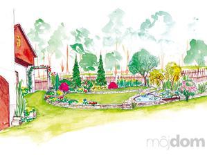 Záhrada na chalupe