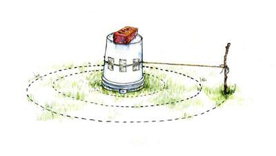 Záhony, výsadby a nejaké tie doplnky - jednoduchý návod na bylinkovú špirálu