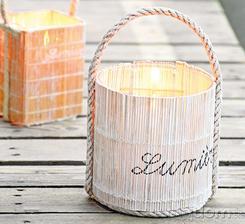 Prehrejte si domov svetlom z vlastnoručne zostrojených svietnikov