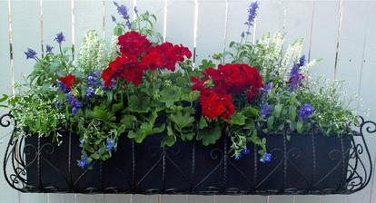 Patriotic Window Box