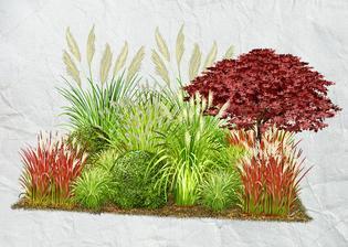 Trávnatá záhrada