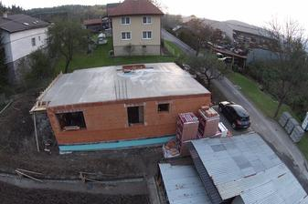mesiac od začatia stavby :)