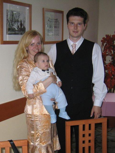 Lucia{{_AND_}}Filip - Rok po svadbe už traja...