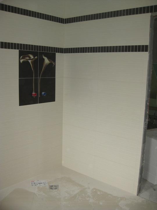 Náš domček - Tu bude sprchový kút