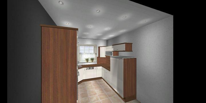 Návrh kuchyne - Obrázok č. 2