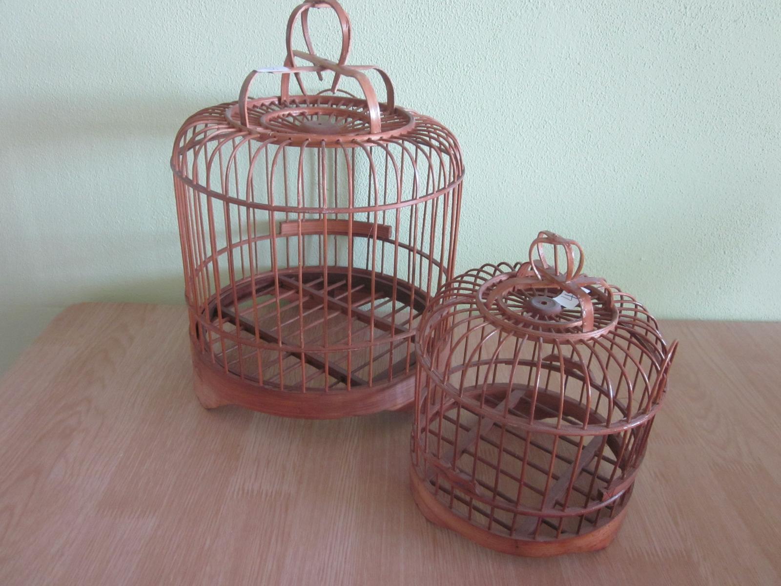 Moje výtvory - Proutěné klece za pár kaček...
