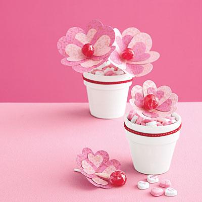 Inspirace k vyrábění - Úžasné kytičky z lízátek :-)