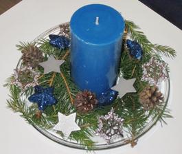 Svícen do modrého pokoje pro hosty