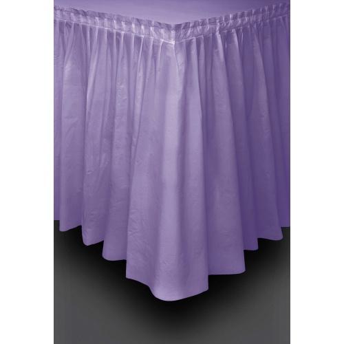 Co už máme - Koupená rautová sukně a ubrusy na zahradu