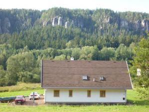 Zarezervovaný penzionek na svatební cestu v Adršpachských skalách :-)